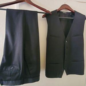 Express Suit vest (S) and slacks (30x32) black